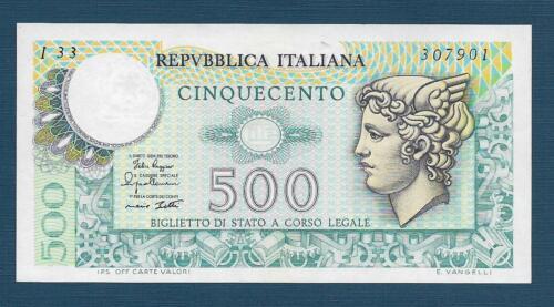 1979 UNC Italy Italia 500 Lire P 94