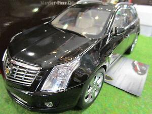 CADILLAC-SRX-2014-noir-au-1-18-de-KYOSHO-G007BK-voiture-miniature-de-collection