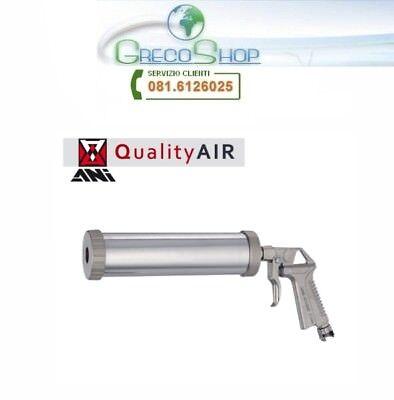 Pistola//Erogatore per sigillanti//silicone//mastice in cartuccia pneumatica//aria c