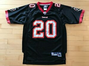 cheap for discount fe8e7 9d1e9 Details about Reebok NFL Youth Boys Sz L 14-16 Tampa Buccaneers Ronde  Barber #20 Sewn Jersey