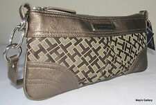 Tommy Hilfiger Handbag Purse Tote Hand Bag  tote Evening Clutch wallet  NWT TH