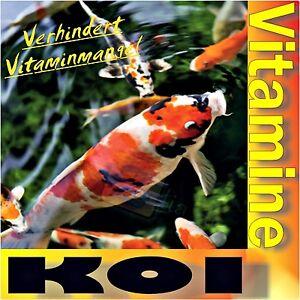 Koi vitas 250ml vitamine f r kois und goldfische for Goldfische und kois in einem teich