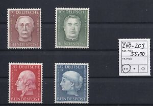 Bund-Michel-Nr-200-203-Postfrisch