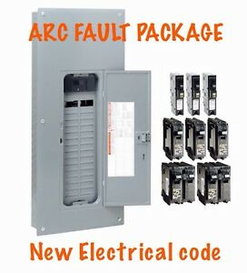 image is loading 200-amp-electrical-panel-square-d-homeline-arc-