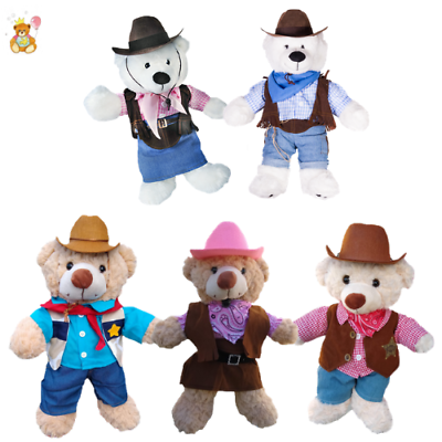 "TEDDIES /& BUILD YOUR OWN BEARS POLICE BEAR CUDDLES OUTFIT  FITS 15/""-16/"" 40CM"
