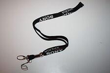 Sony Xperia clave banda/Lanyard/llavero nuevo!!! color negro
