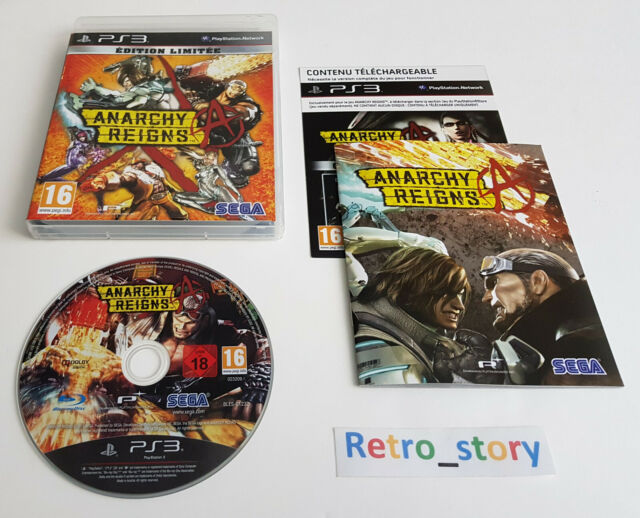 Sony Playstation PS3 - Anarchy Reigns - Edition Limitée - PAL