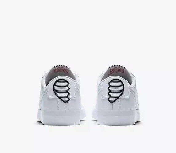 Nike ottenendo blazer basso basso basso se lux aj0866-100 6 nuove dimensioni di pelle bianca | finitura  0443ed