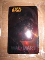 Star Wars Promo Walmart Walmart Exclusive Gift Card Darth Vader Non Scratched