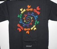 Woodstock 1969 Festival spiral Logo Vintage Style T-shirt