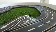 Slotcar LEITPLANKEN BANDE 6cm x 200cm fur Carrera Scx Ninco im Maßstab 124 132