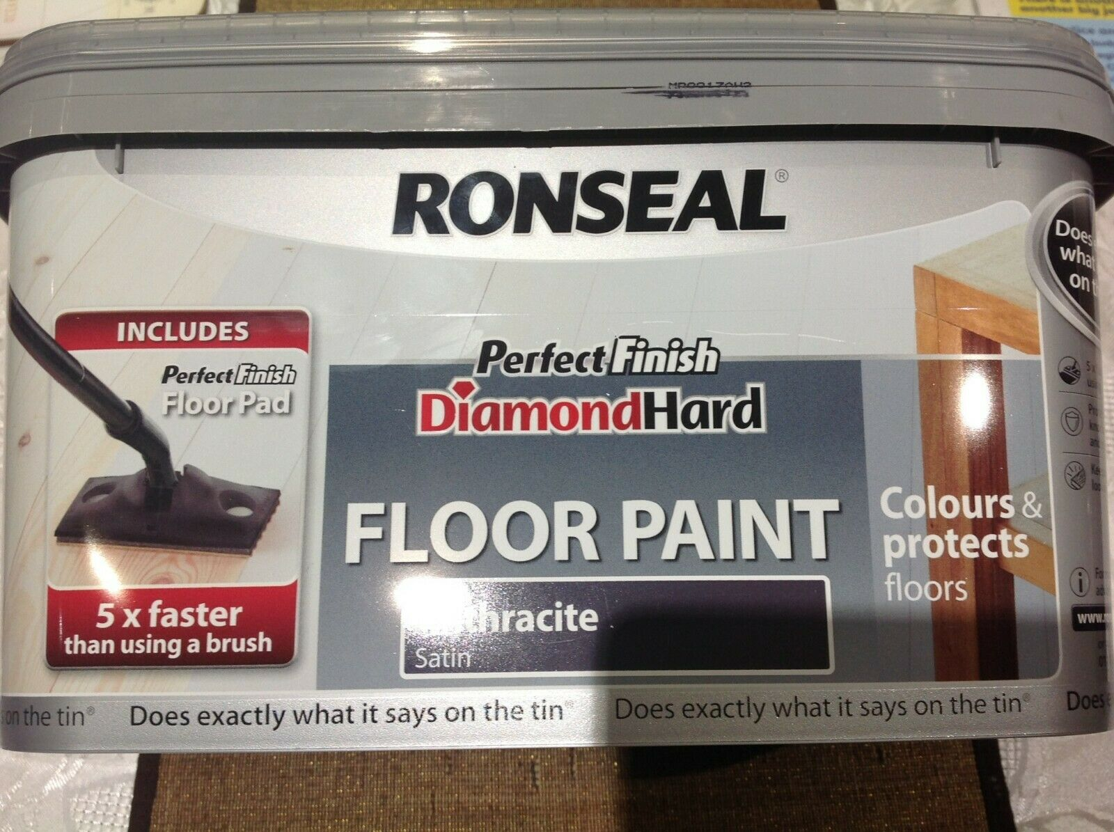 Ronseal Diamond Hard Garage Floor Paint Steel Blue 5lt For Sale Ebay