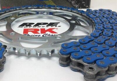 Blue 2007-08 GSXR1000 RK 530xsoz 16//43 QA Ratio Chain and Sprocket Kit Suzuki