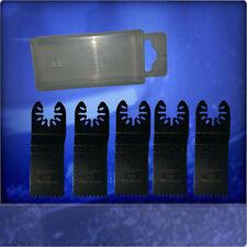 5 Sägeblätter 32mm Japan Sägeblatt  Zubehör Aufsätze für Dremel TM8300-Q mit Box