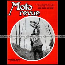 MOTO REVUE N°1859 AERMACCHI 125 250 ALA VERDE BULTACO, TOURIST TROPHY STORY 1967