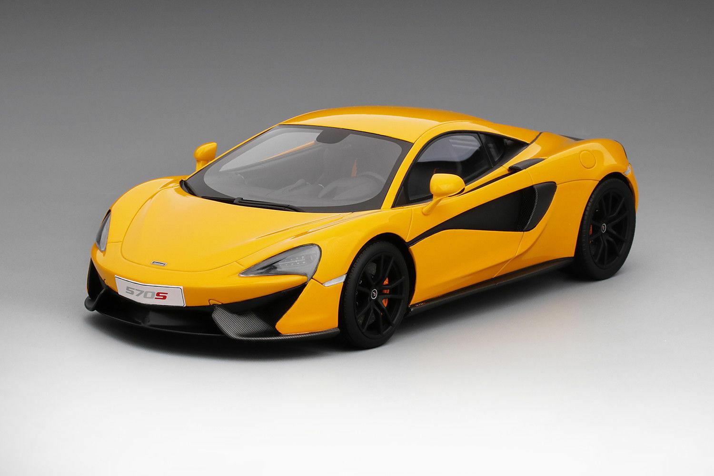 Top Speed McLaren 570S Volcano Yellow TS0046 1 18 New Sweet Looking Mclaren