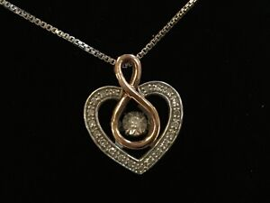 32a8a389b Kay Jewelers 925/10k ZEI Diamonds in Rhythm 1/8 ct tw Necklace ...