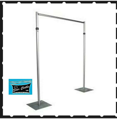 Pipe and Drape System Heavy Duty 10ft x 10ft Telescopic Wedding Backdrop Stand