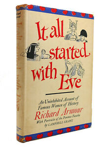 Richard Armour, Campbell Grant IT ALL STARTED WITH EVE  1st Edition 2nd Printing