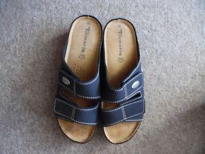 leather Details 40Navy NewTamaris Uk Sandals About size 100 dCxBoe