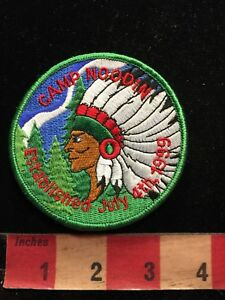 Native-American-Indian-CAMP-NOODIN-BSA-Boy-Scouts-Patch-87N4