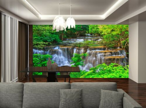 Waterfall,Thailand Wall Mural Photo Wallpaper GIANT DECOR Paper Poster Free Past