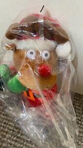 46cm Dancing Window Clinger Reindeer Animated Christmas Fun