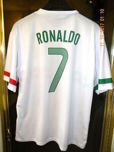 designer fashion f1bd4 fb4a4 Details about CRISTIANO RONALDO PORTUGAL AWAY JERSEY UEFA EURO 2012.