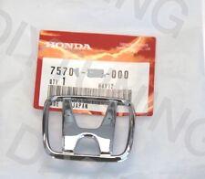"""OEM 99-00 Honda Civic Si EX DX CX Front Bumper """"H' Emblem Badge S04 -J00"""
