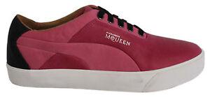Puma Alexander McQueen AMQ Deck Lo Scarpe sportive uomo rosa in pelle 353171 02
