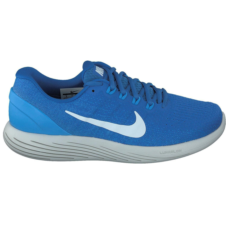 Mens Nike Lunarglide 9 bluee bluee bluee Running Trainers 904715 405 9cc97b
