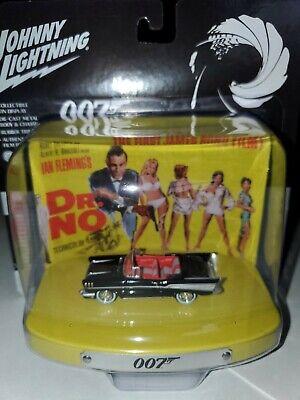 échelle 1:64 par Johnny Lightning James Bond Dr No CHEVY BEL AIR