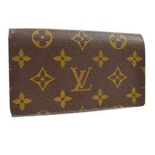 Louis Vuitton M61730 Monogram Canvas Wallet - Brown