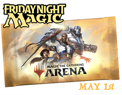 2x MTG Arena Promo Pack Codes FNM at Home MAY01 and MAY08 FAST send