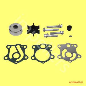 Yamaha Water Pump Repair Kit 63D-W0078-01 40 50 60 HP 2//4 Stroke 1995-Current US