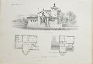 1868-Architektonisch-Aufdruck-Craig-Ailey-Villa-Hoehe-Plan-Boden-Schlafzimmer