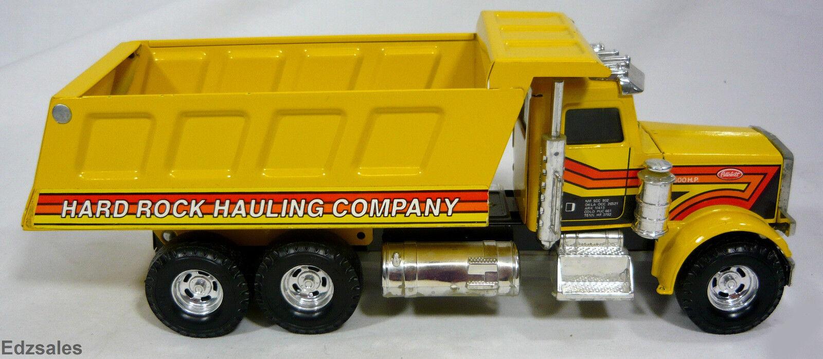 Vintage Ertl Ertl Ertl 12 1 2  Peterbilt acarreo Camión de juguete de acero prensado 96ec3e