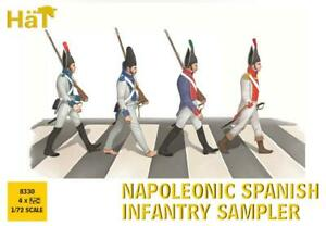 NAPOLEONIC SPANISH INFANTRY SAMPLER Soldatini 1//72 HAT 8330