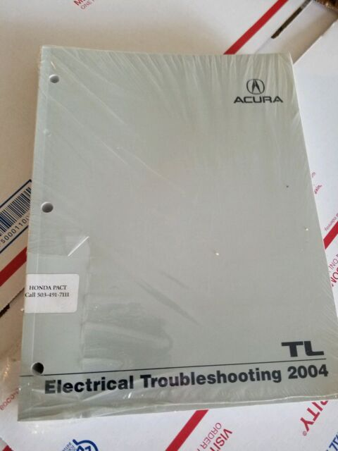 2004 Acura Tl Electical Troubleshooting Factory Manual