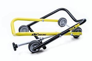 tireX-Der-Radwechselprofi-Montagestaender-hinten-Heber-Motorrad-Racing