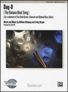 Day-o (la Banana Boat Song) Pop Steel Drum Ensemble Sheet Music Score & Parts-afficher Le Titre D'origine