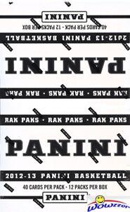 2012-13-Panini-Basketball-MASSIVE-Factory-Sealed-Jumbo-Rack-Pack-Box