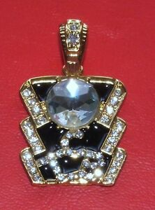 Elvis style crystal tcb pendant ebay image is loading elvis style crystal tcb pendant mozeypictures Image collections