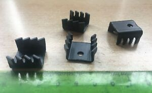 TV58  HEATSINK    TO220   29.9C/W   4 PIECES per order       Z2553 7435422194168