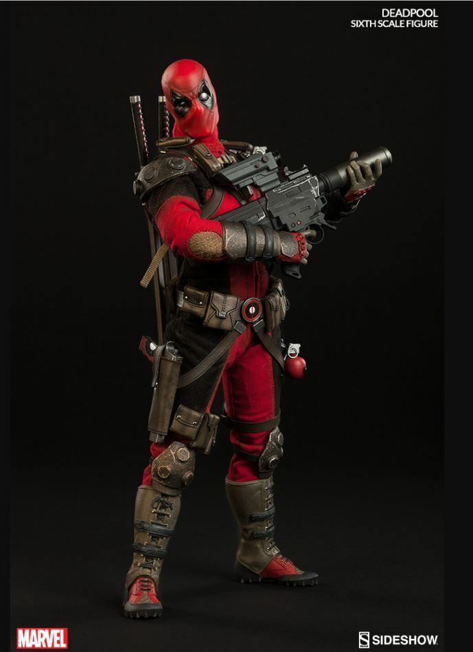 Sideshow Collectibles Deadpool  premium action figure Nuovo / Sealed Gotta Have It