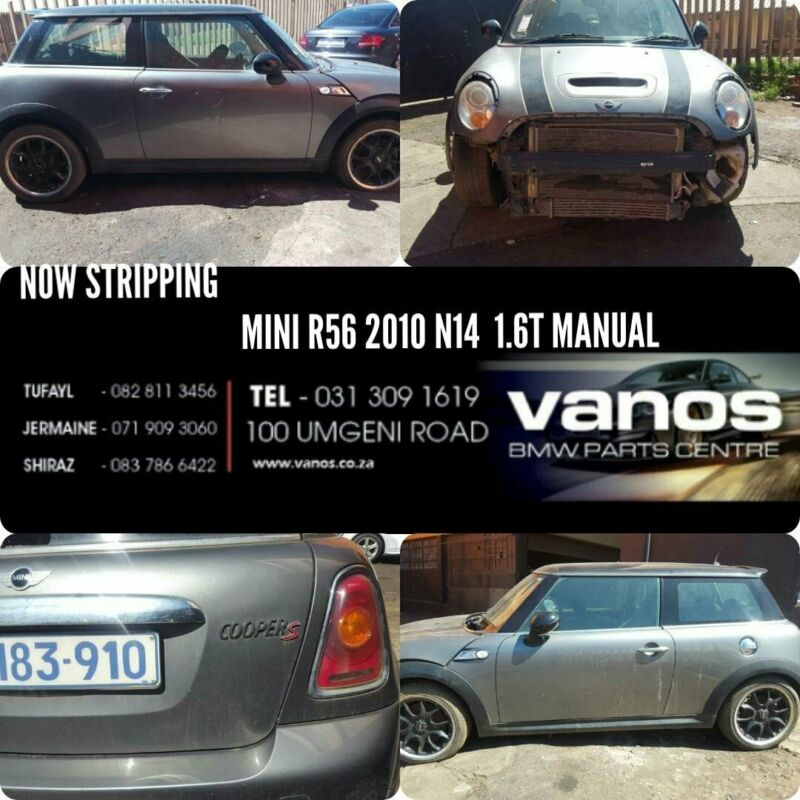 MINI R56 1.6T MANUAL STRIPPING FOR SPARES