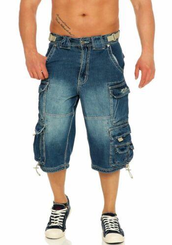 Jet Lag Herren Cargo Shorts 007 B Cargoshorts Bermuda Workershorts kurze Hose