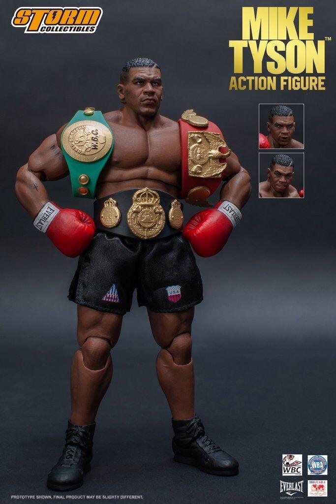 oferta especial Storm Coleccionables   Iron Iron Iron  Mike Tyson 1 12 Escala Figura de Acción  Boxeo Deportes  exclusivo