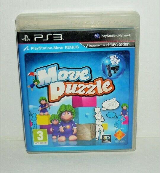 Move Puzzle sur Playstation 3 PS3 avec Notice MB29
