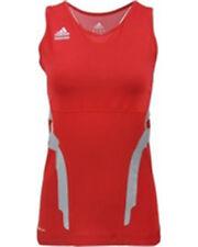 Adidas Women Powerweb Tank Top (L) Red